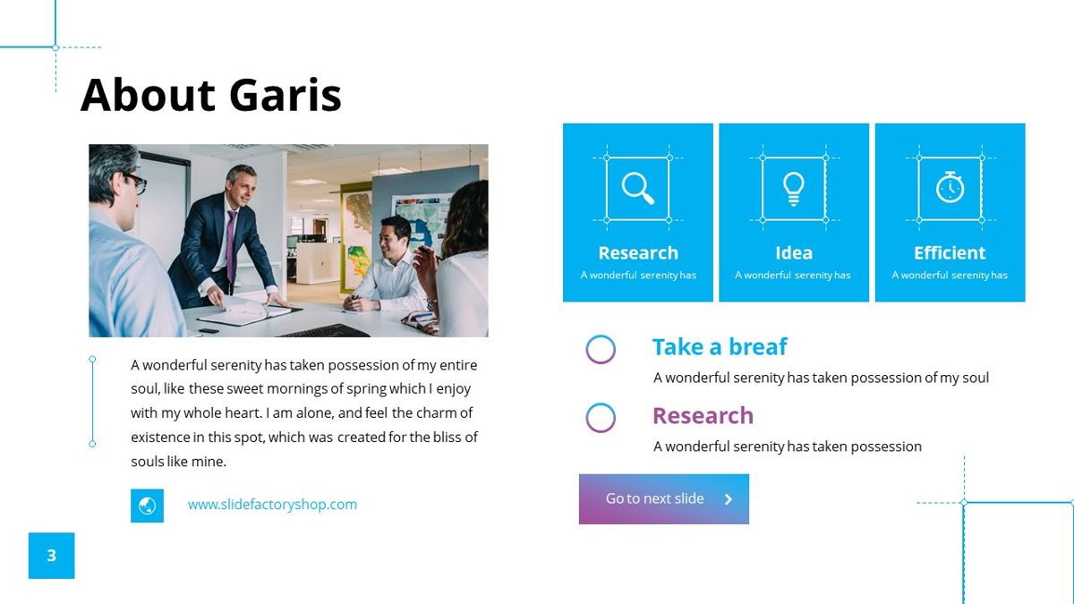 Garis - Graphic Design Powerpoint Template, Slide 4, 06225, Data Driven Diagrams and Charts — PoweredTemplate.com