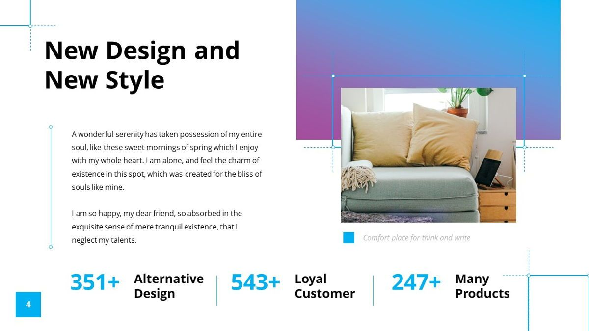 Garis - Graphic Design Powerpoint Template, Slide 5, 06225, Data Driven Diagrams and Charts — PoweredTemplate.com