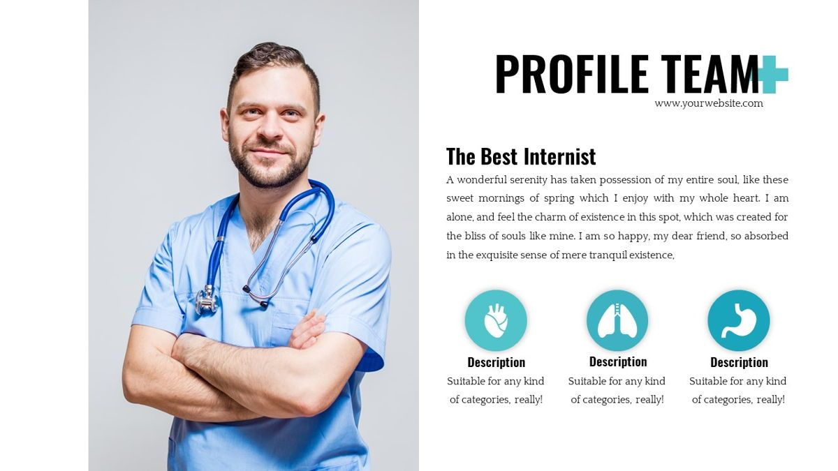 Medicine - Health Powerpoint Template, Slide 12, 06226, Data Driven Diagrams and Charts — PoweredTemplate.com