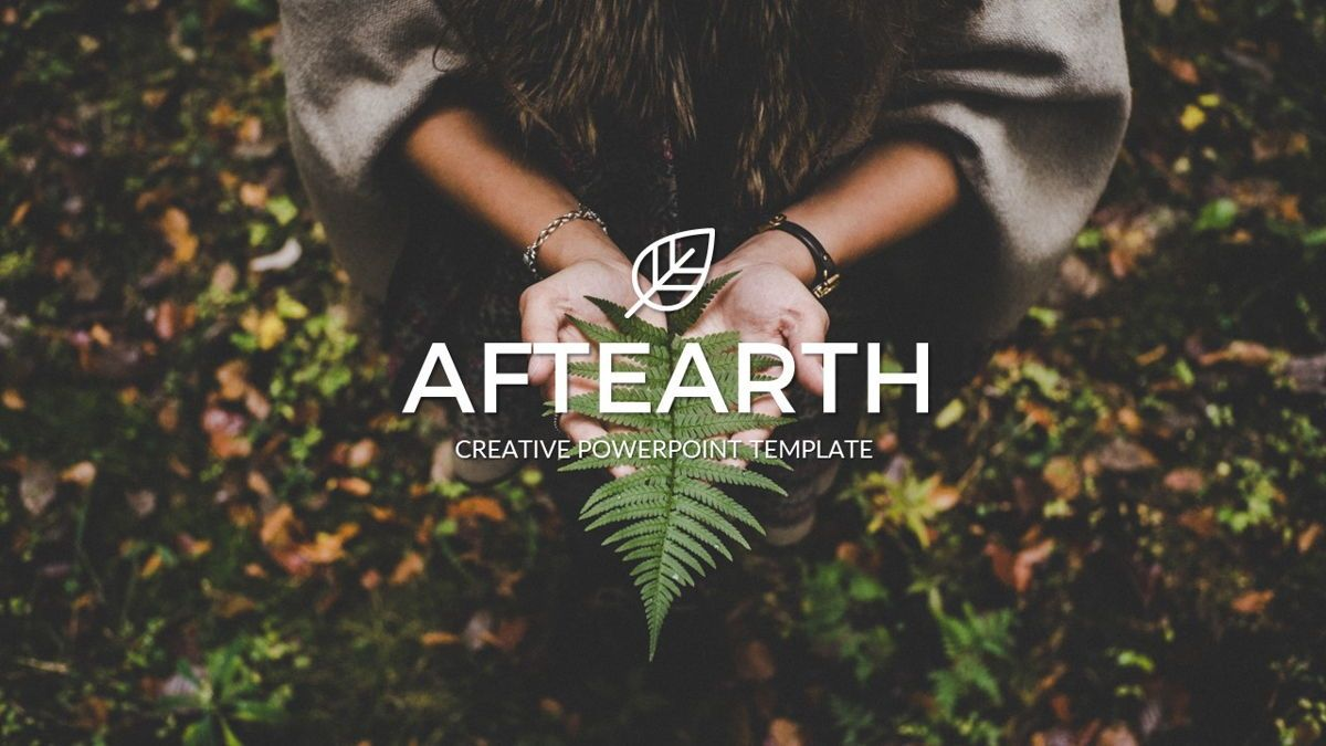 Aftearth - Eco Powerpoint Template, Slide 2, 06228, Business Models — PoweredTemplate.com