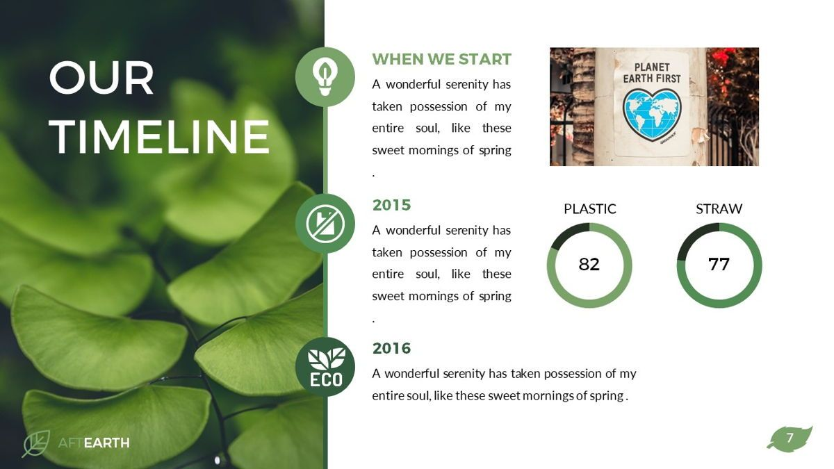 Aftearth - Eco Powerpoint Template, Slide 8, 06228, Business Models — PoweredTemplate.com