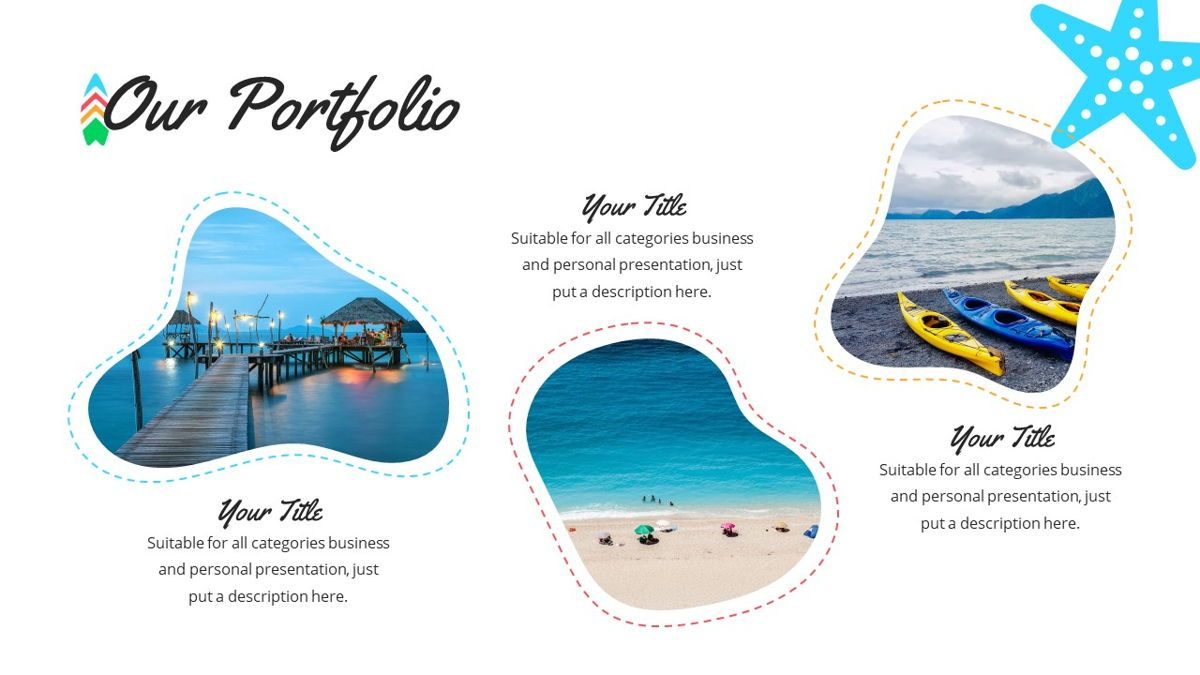 Tropicana - Summer Powerpoint Template, Slide 12, 06229, Data Driven Diagrams and Charts — PoweredTemplate.com