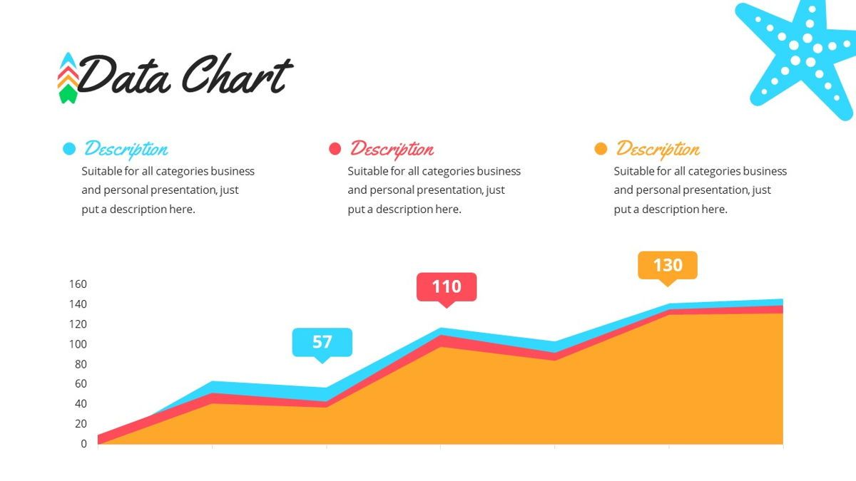 Tropicana - Summer Powerpoint Template, Slide 20, 06229, Data Driven Diagrams and Charts — PoweredTemplate.com