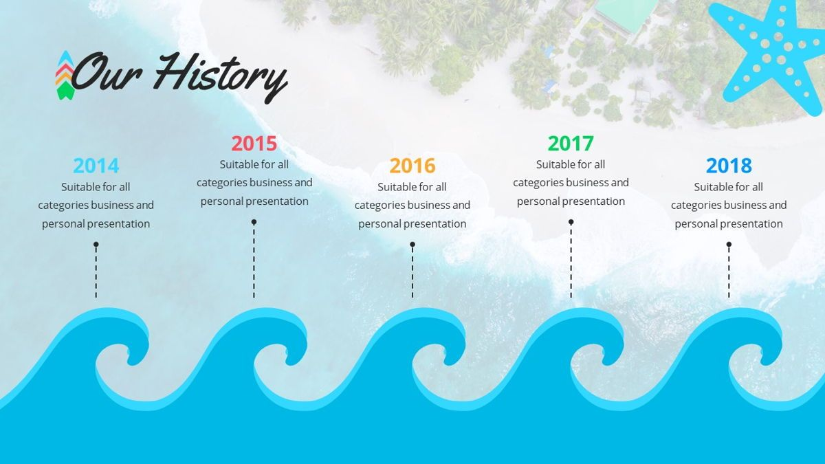 Tropicana - Summer Powerpoint Template, Slide 7, 06229, Data Driven Diagrams and Charts — PoweredTemplate.com
