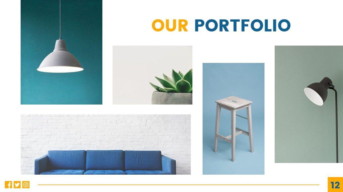 Deluxe - Furniture Powerpoint Template, Slide 13, 06230, Business Models — PoweredTemplate.com