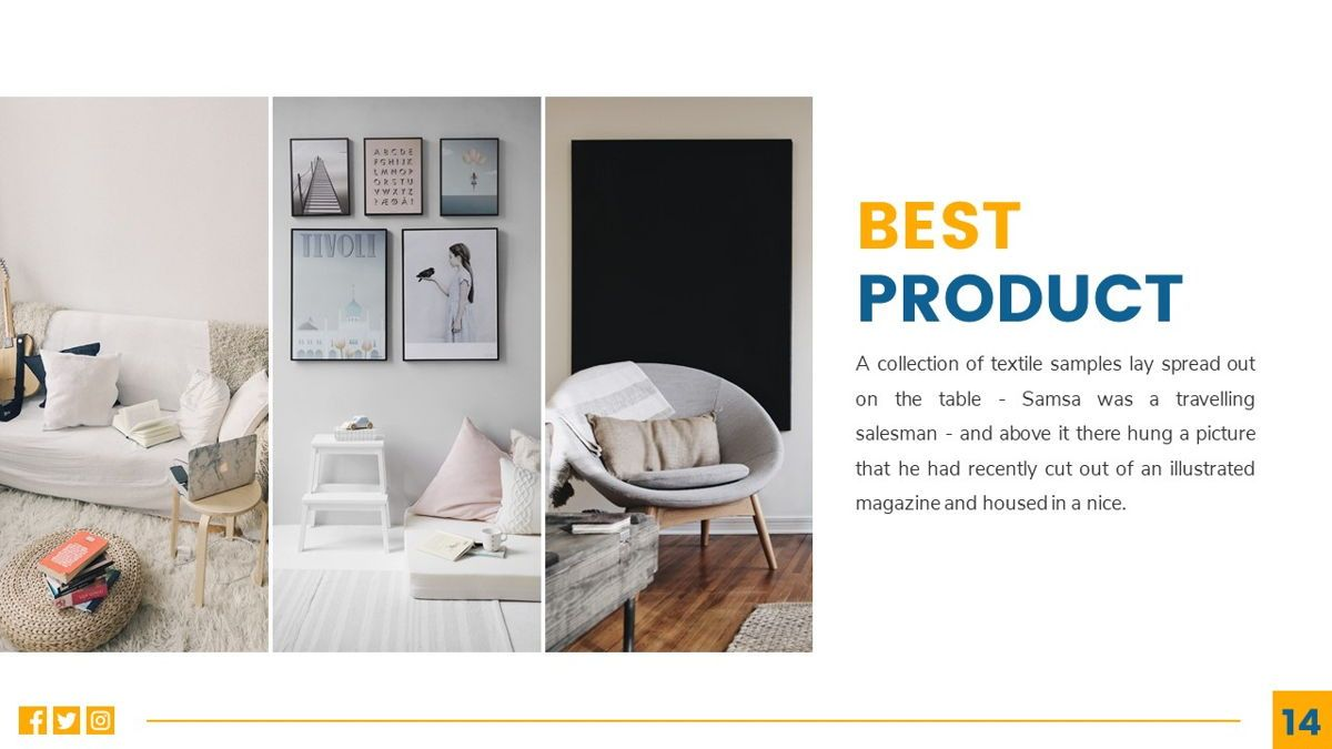 Deluxe - Furniture Powerpoint Template, Slide 15, 06230, Business Models — PoweredTemplate.com