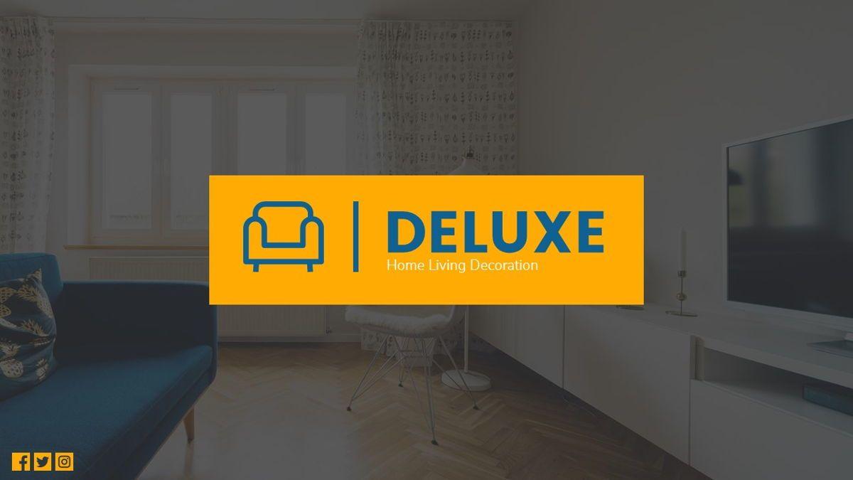 Deluxe - Furniture Powerpoint Template, Slide 2, 06230, Business Models — PoweredTemplate.com