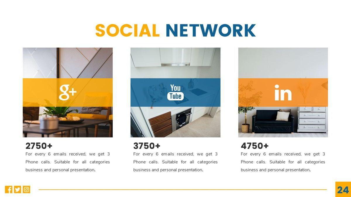 Deluxe - Furniture Powerpoint Template, Slide 25, 06230, Business Models — PoweredTemplate.com