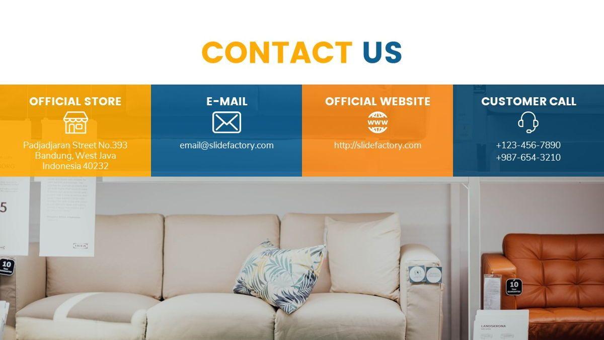 Deluxe - Furniture Powerpoint Template, Slide 30, 06230, Business Models — PoweredTemplate.com