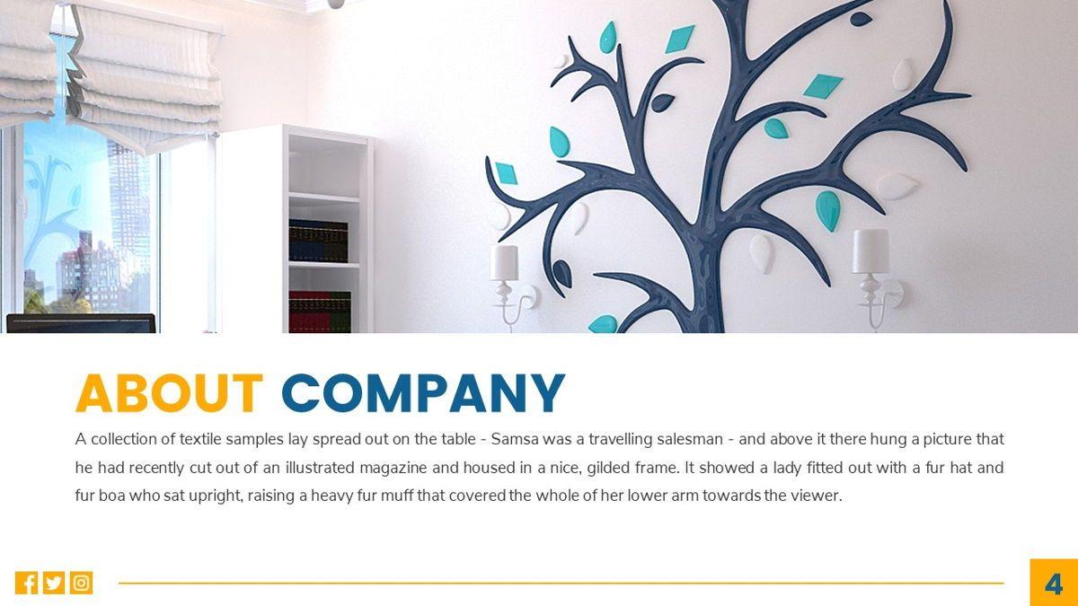 Deluxe - Furniture Powerpoint Template, Slide 5, 06230, Business Models — PoweredTemplate.com