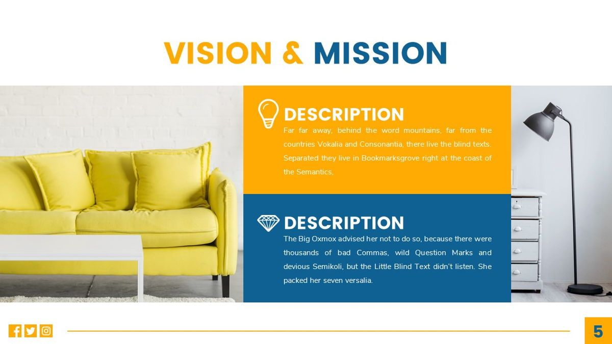 Deluxe - Furniture Powerpoint Template, Slide 6, 06230, Business Models — PoweredTemplate.com