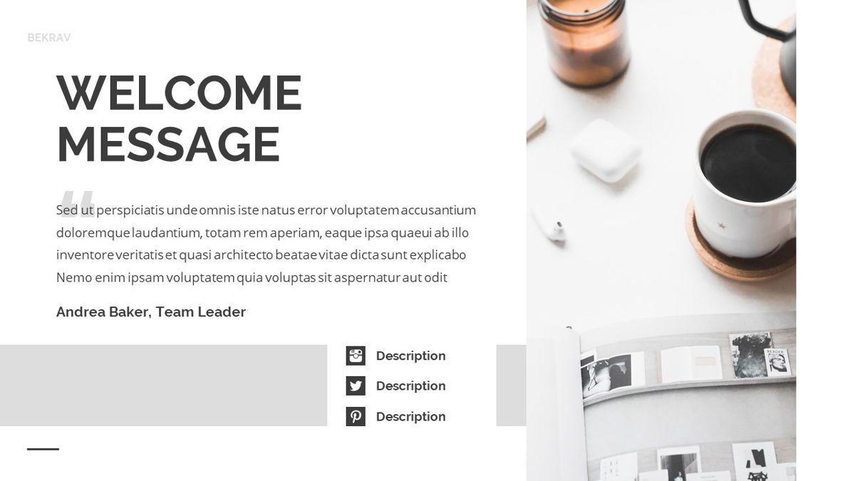 Bekrav - Agency Powerpoint Template, Slide 4, 06231, Business Models — PoweredTemplate.com
