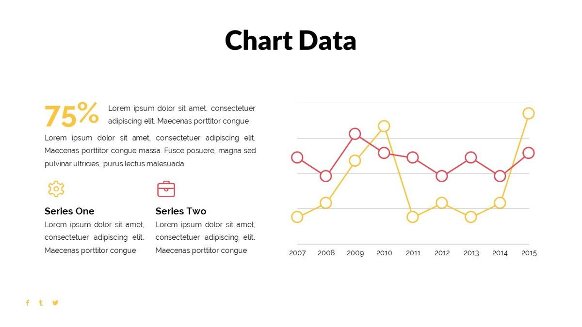Bons - Creative Powerpoint Template, Slide 28, 06232, Data Driven Diagrams and Charts — PoweredTemplate.com