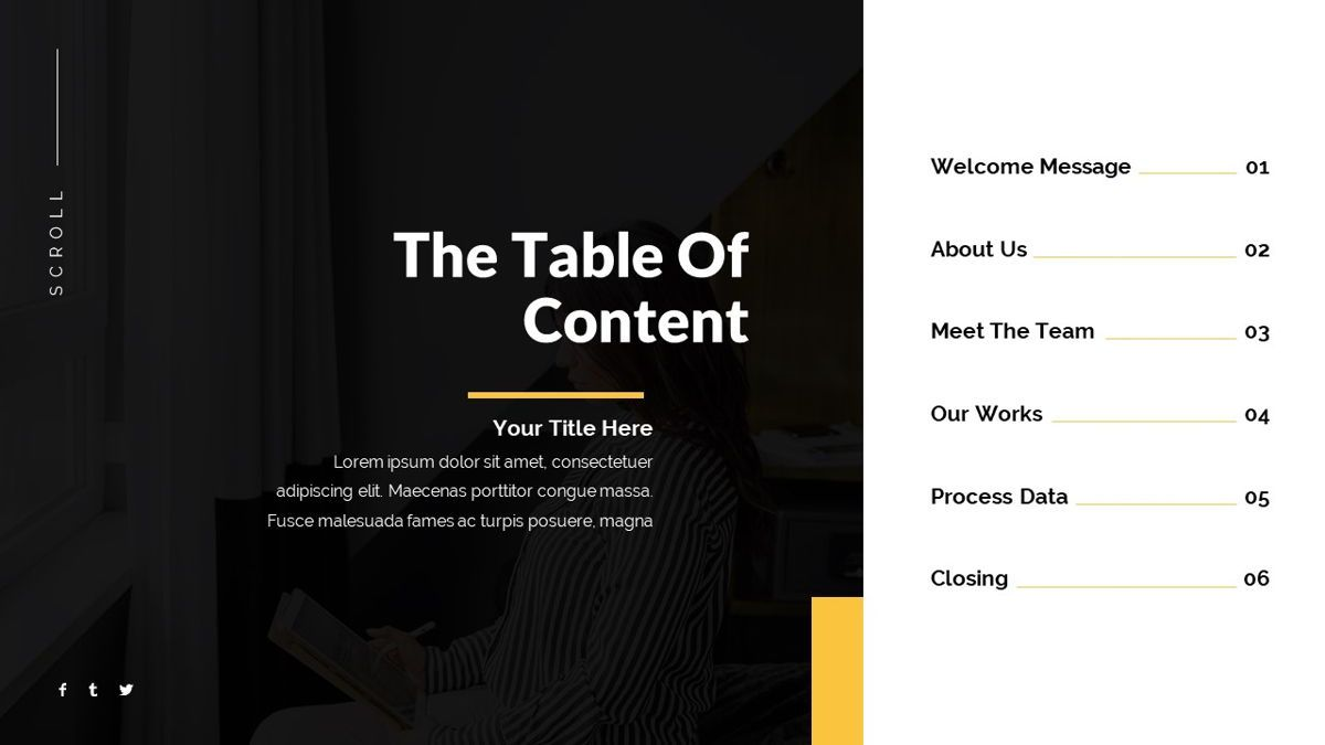 Bons - Creative Powerpoint Template, Slide 5, 06232, Data Driven Diagrams and Charts — PoweredTemplate.com