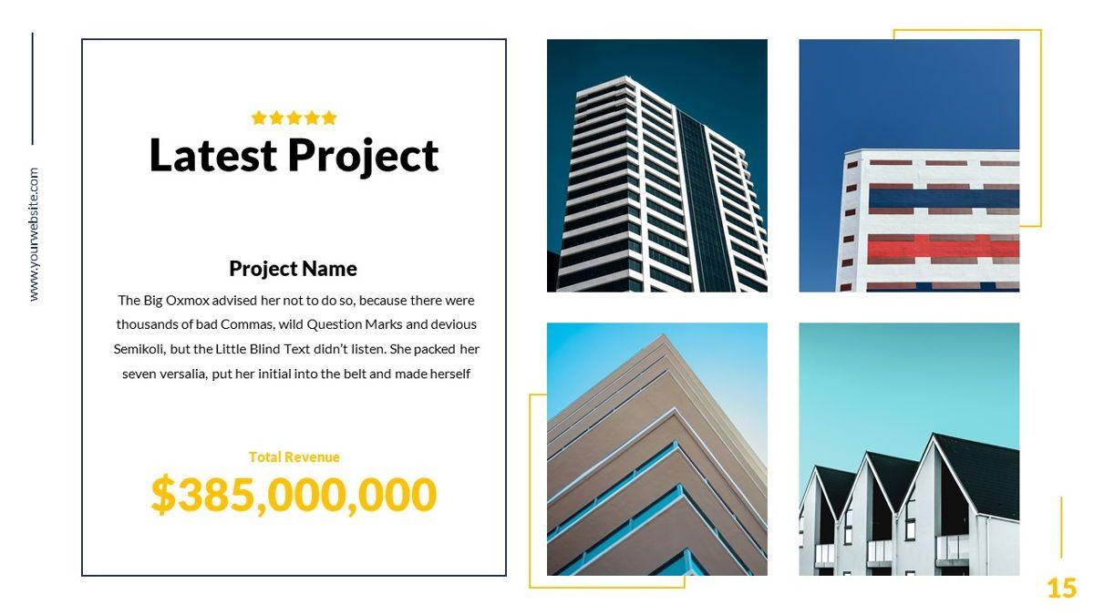 Mansion - Hospitality Powerpoint Template, Slide 16, 06233, Business Models — PoweredTemplate.com