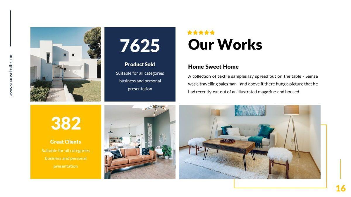 Mansion - Hospitality Powerpoint Template, Slide 17, 06233, Business Models — PoweredTemplate.com