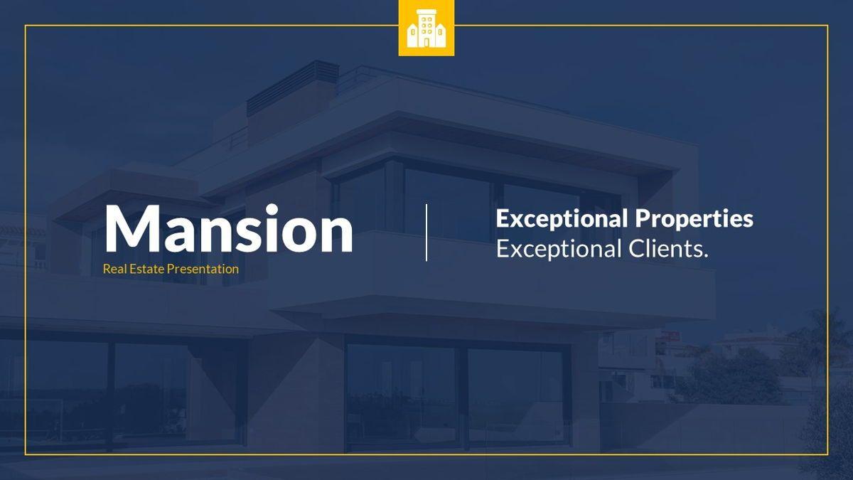Mansion - Hospitality Powerpoint Template, Slide 2, 06233, Business Models — PoweredTemplate.com