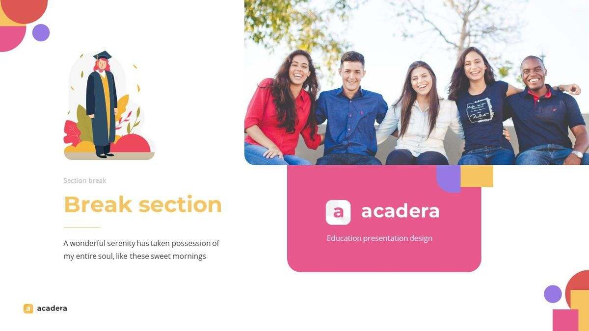 Acadera - Academic Powerpoint Template, Slide 17, 06234, Data Driven Diagrams and Charts — PoweredTemplate.com