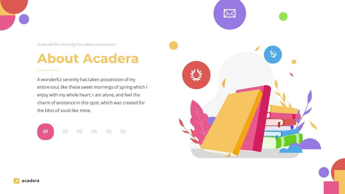 Acadera - Academic Powerpoint Template, Slide 6, 06234, Data Driven Diagrams and Charts — PoweredTemplate.com