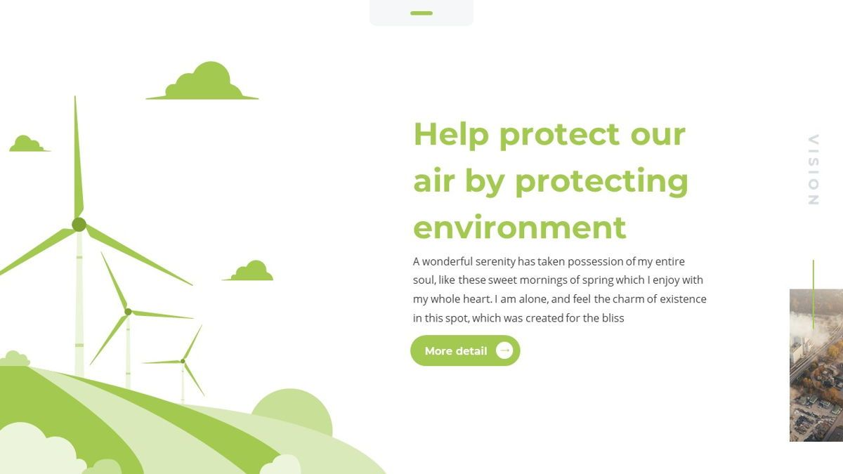 Airea - Air Pollutions Powerpoint Template, Slide 7, 06235, Diagrammi e Grafici con Dati — PoweredTemplate.com