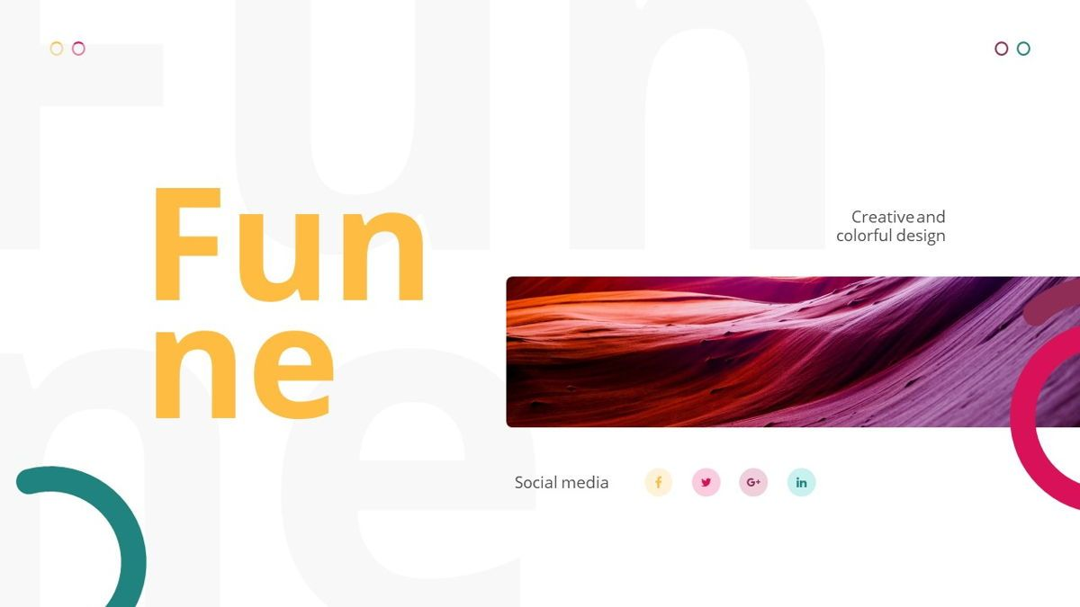 Funne - Creative Powerpoint Template, Slide 2, 06236, Data Driven Diagrams and Charts — PoweredTemplate.com