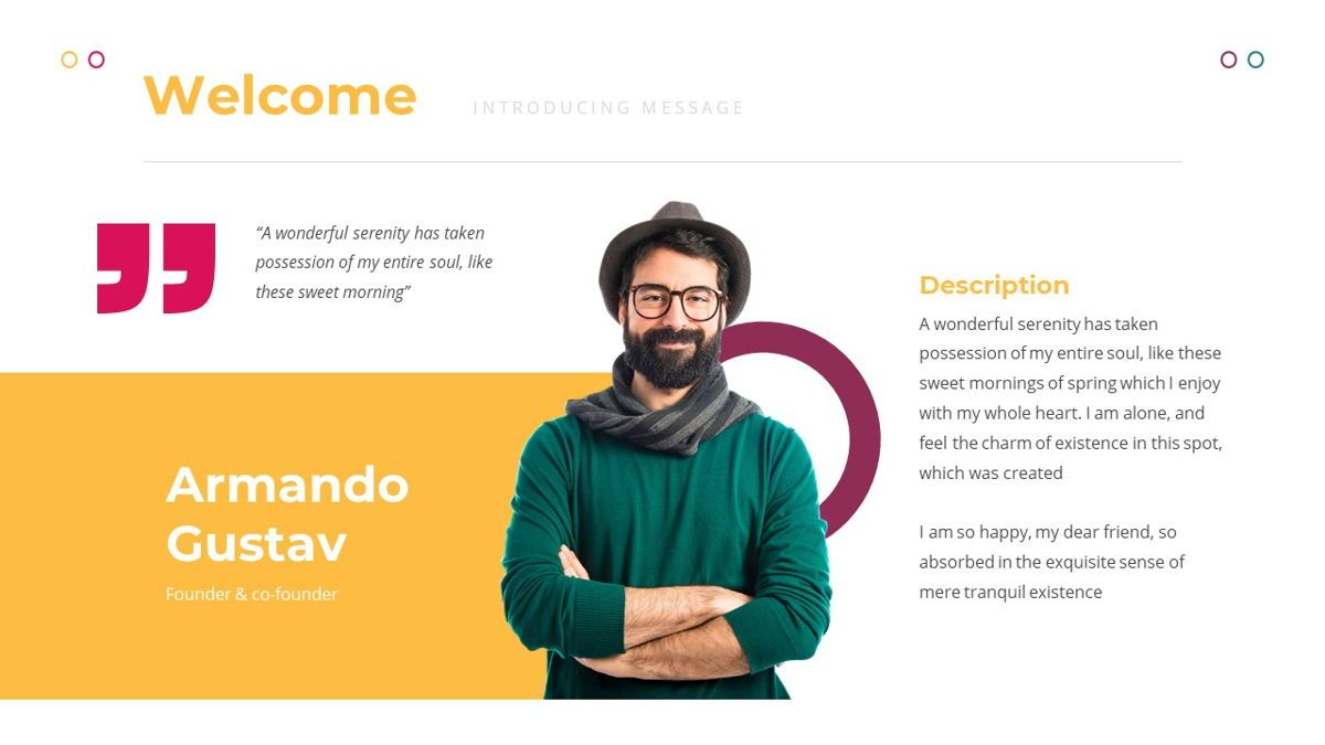 Funne - Creative Powerpoint Template, Slide 3, 06236, Data Driven Diagrams and Charts — PoweredTemplate.com