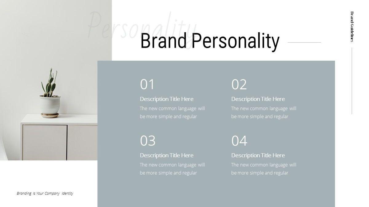 Helena - Brandbook Powerpoint Template, Slide 10, 06237, Modelli di lavoro — PoweredTemplate.com
