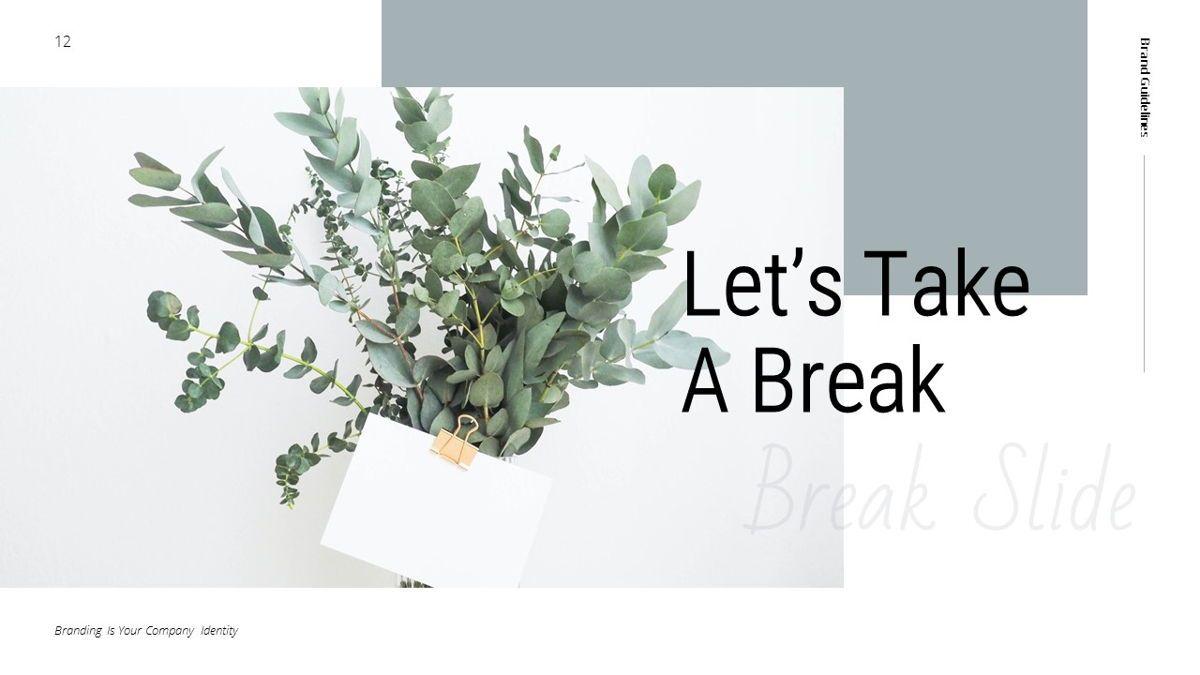 Helena - Brandbook Powerpoint Template, Slide 12, 06237, Modelli di lavoro — PoweredTemplate.com