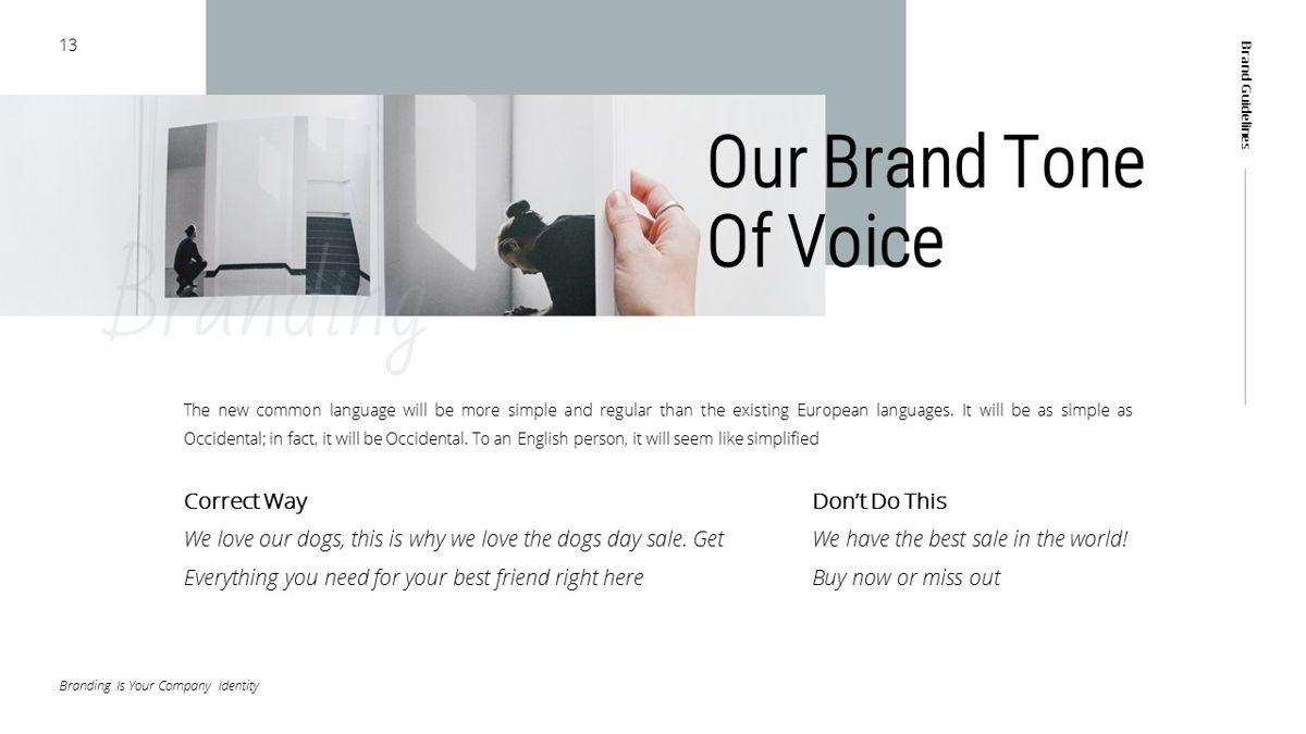 Helena - Brandbook Powerpoint Template, Slide 13, 06237, Modelli di lavoro — PoweredTemplate.com
