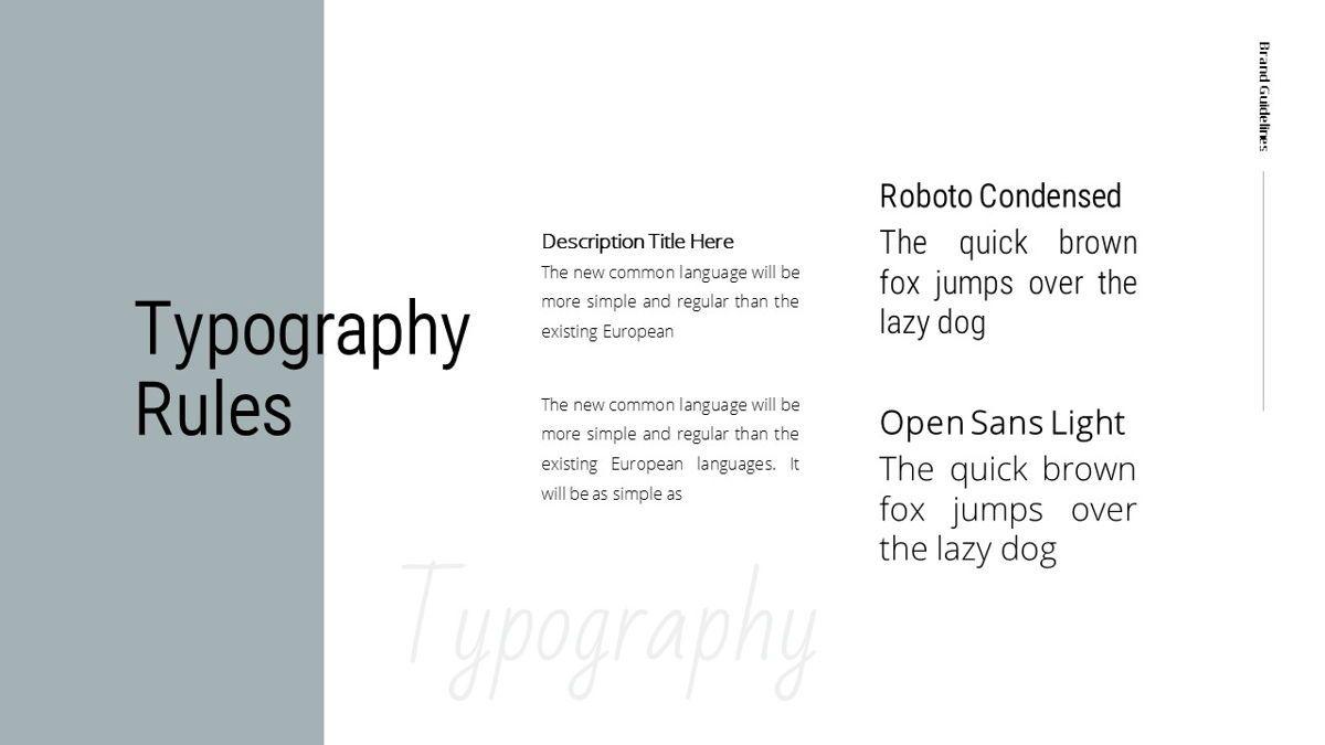 Helena - Brandbook Powerpoint Template, Slide 21, 06237, Modelli di lavoro — PoweredTemplate.com