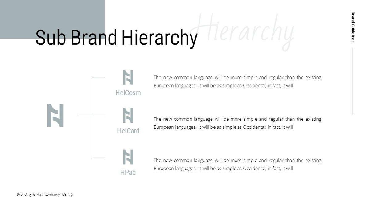 Helena - Brandbook Powerpoint Template, Slide 22, 06237, Modelli di lavoro — PoweredTemplate.com