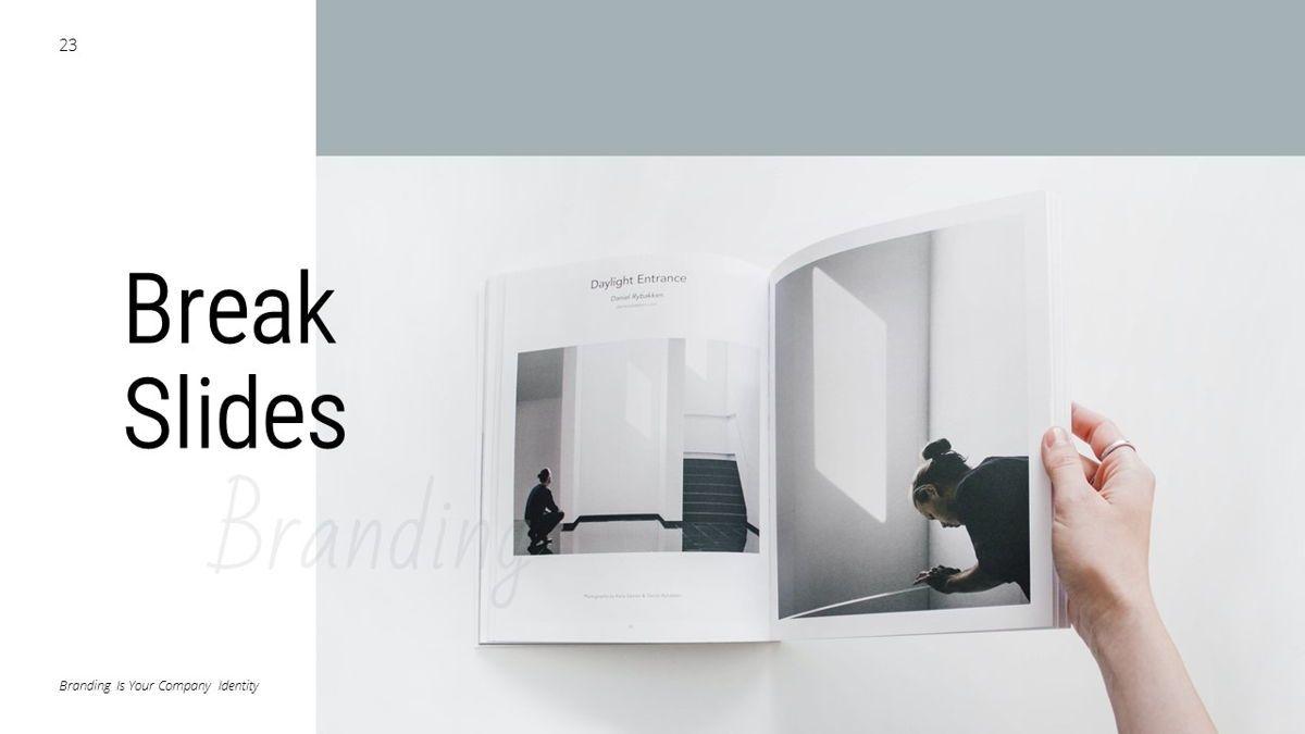 Helena - Brandbook Powerpoint Template, Slide 23, 06237, Modelli di lavoro — PoweredTemplate.com