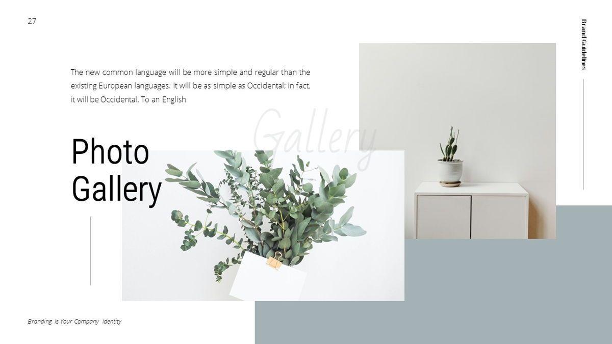 Helena - Brandbook Powerpoint Template, Slide 27, 06237, Modelli di lavoro — PoweredTemplate.com