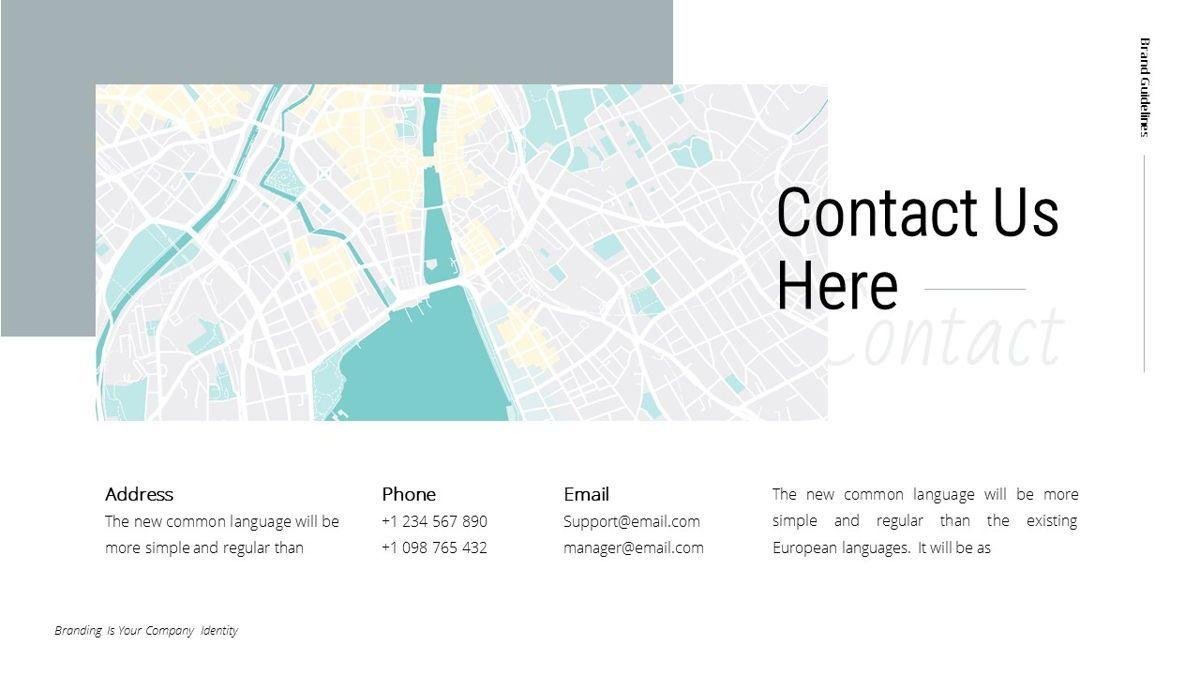 Helena - Brandbook Powerpoint Template, Slide 29, 06237, Modelli di lavoro — PoweredTemplate.com