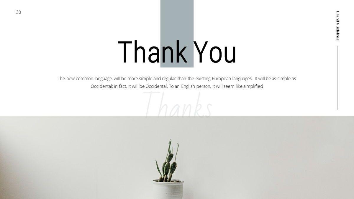 Helena - Brandbook Powerpoint Template, Slide 30, 06237, Modelli di lavoro — PoweredTemplate.com
