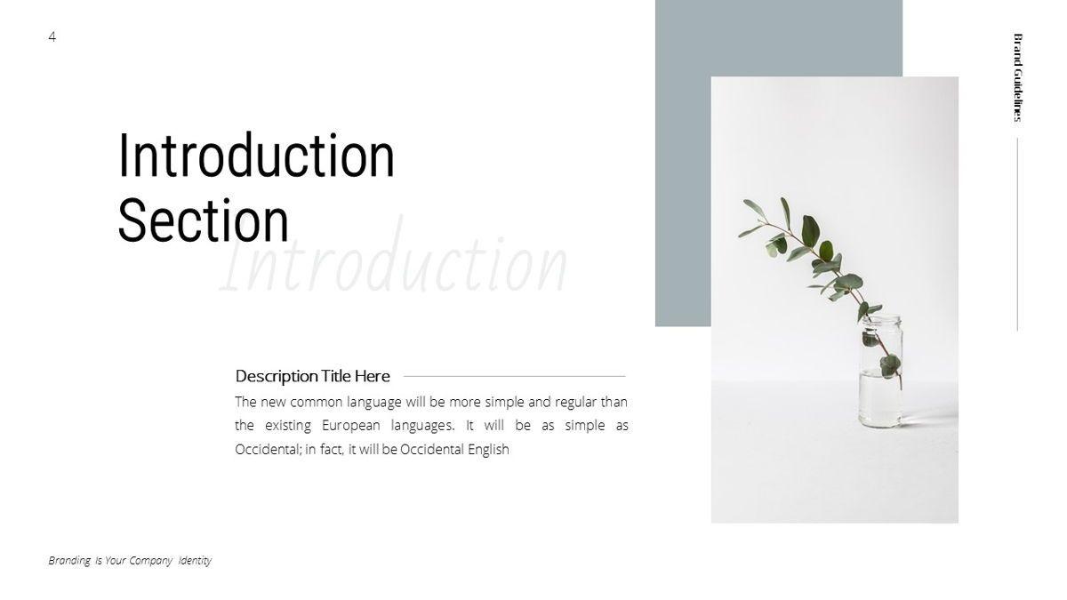 Helena - Brandbook Powerpoint Template, Slide 4, 06237, Modelli di lavoro — PoweredTemplate.com