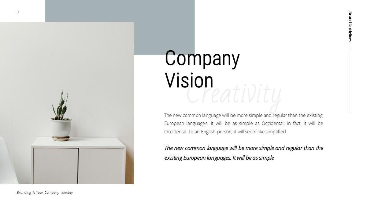 Helena - Brandbook Powerpoint Template, Slide 7, 06237, Modelli di lavoro — PoweredTemplate.com