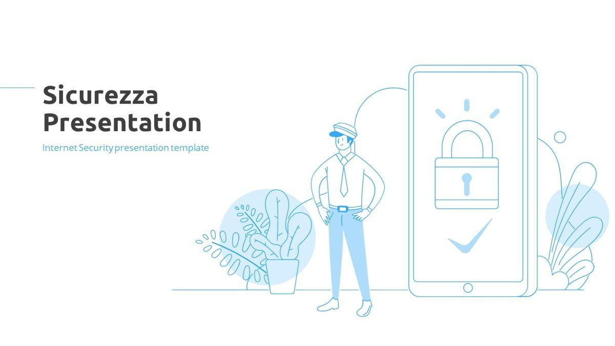 Sicurezza - Security Powerpoint Template, Slide 2, 06239, Business Models — PoweredTemplate.com