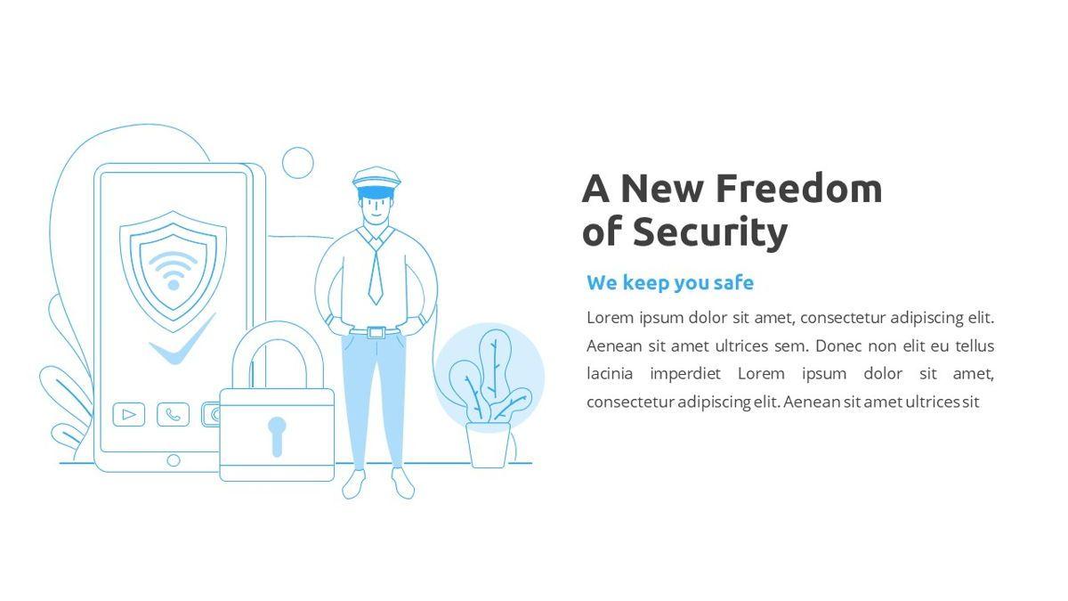 Sicurezza - Security Powerpoint Template, Slide 6, 06239, Business Models — PoweredTemplate.com