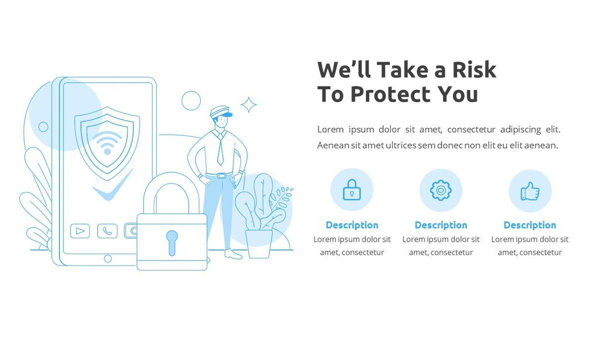 Sicurezza - Security Powerpoint Template, Slide 8, 06239, Business Models — PoweredTemplate.com