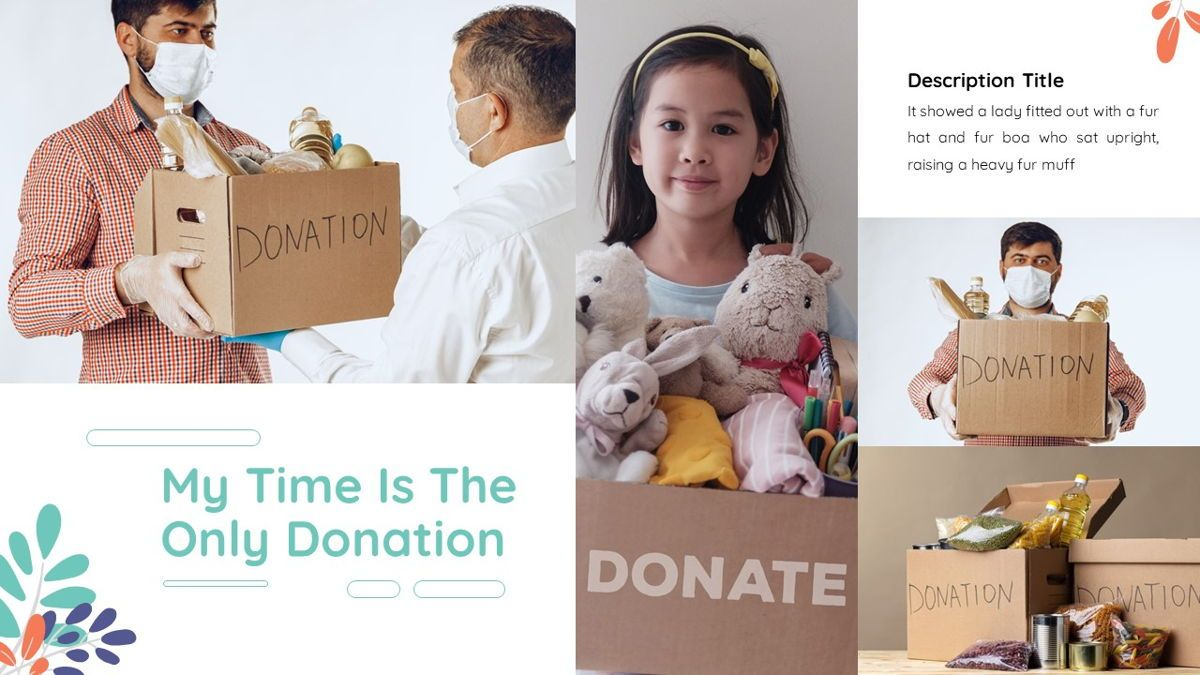 Sharee - Charity Powerpoint Template, Slide 19, 06241, Data Driven Diagrams and Charts — PoweredTemplate.com