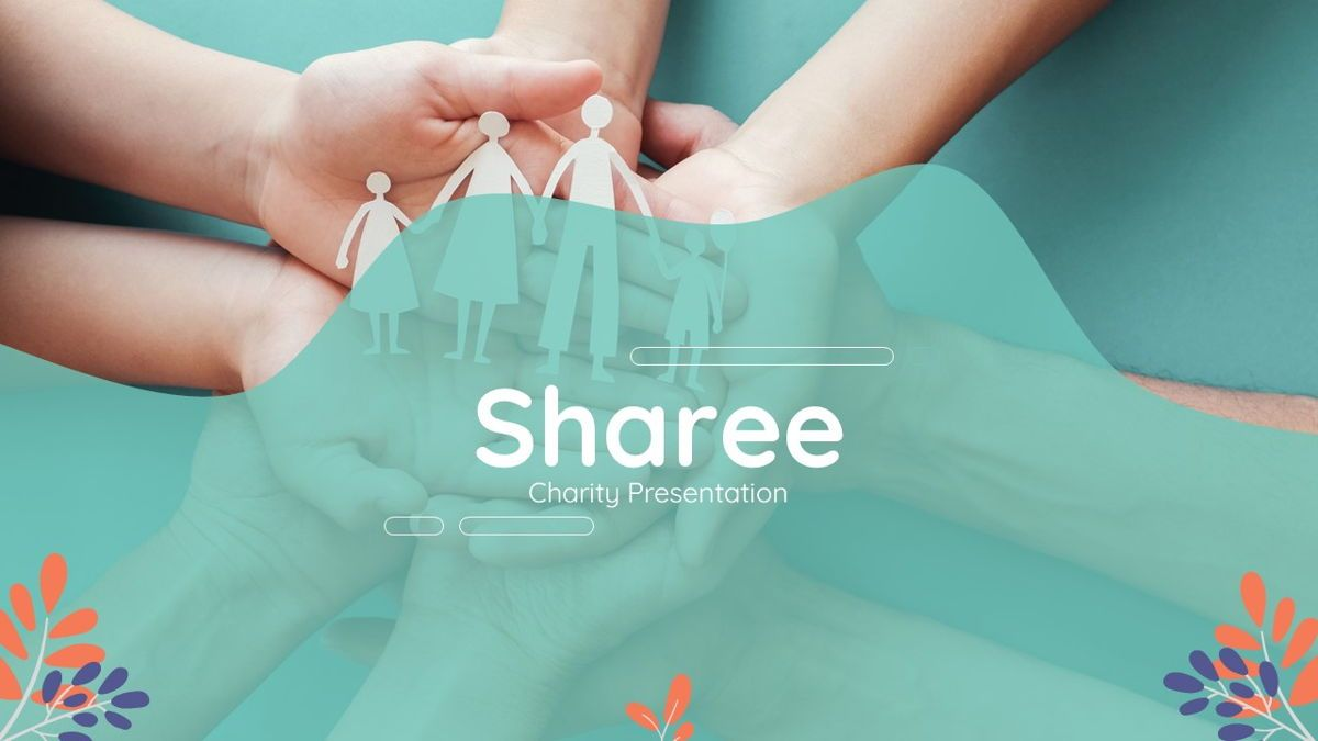 Sharee - Charity Powerpoint Template, Slide 2, 06241, Data Driven Diagrams and Charts — PoweredTemplate.com