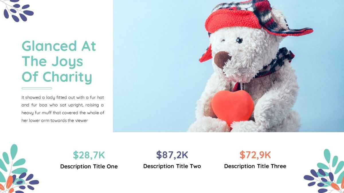 Sharee - Charity Powerpoint Template, Slide 21, 06241, Data Driven Diagrams and Charts — PoweredTemplate.com