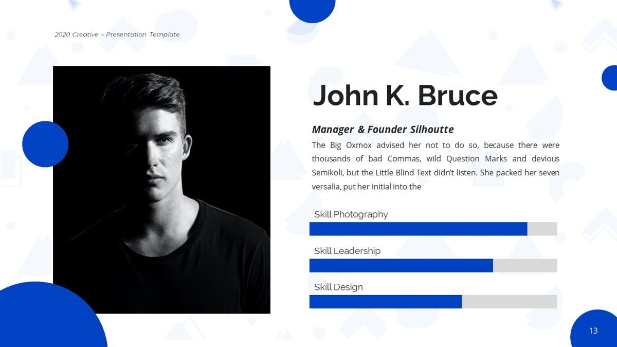 Silhouette - Creative Powerpoint Template, Slide 14, 06242, Business Models — PoweredTemplate.com