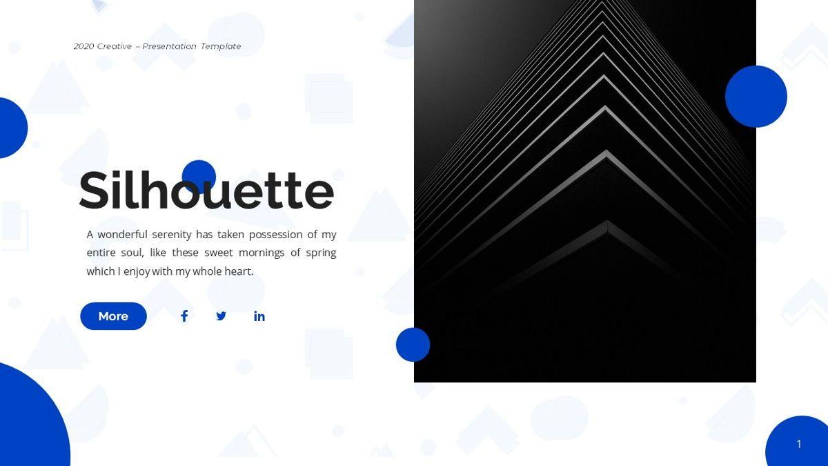 Silhouette - Creative Powerpoint Template, Slide 2, 06242, Business Models — PoweredTemplate.com