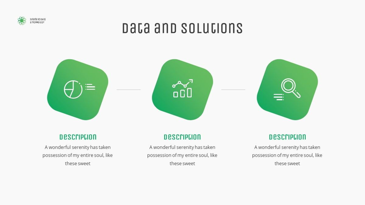 Sinara - Science Powerpoint Template, Slide 9, 06243, Data Driven Diagrams and Charts — PoweredTemplate.com