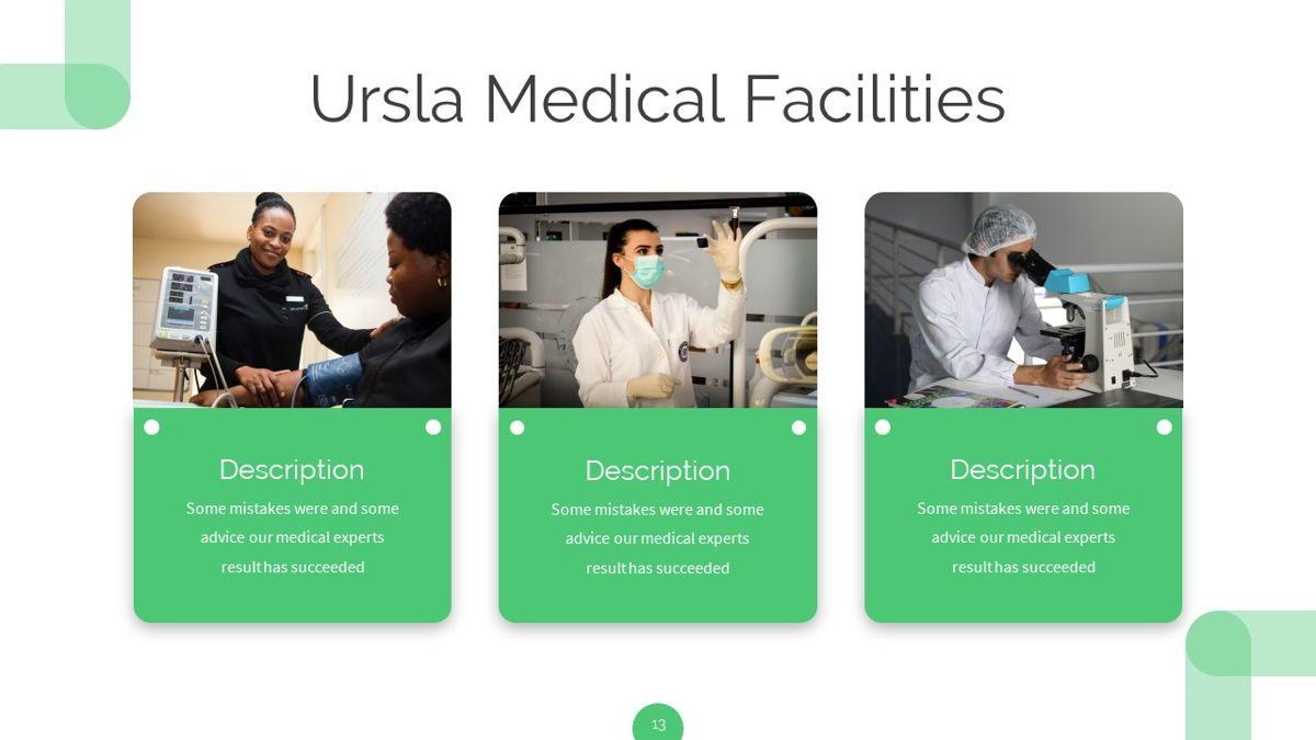 Ursla - Medical Powerpoint Template, Slide 14, 06245, Data Driven Diagrams and Charts — PoweredTemplate.com