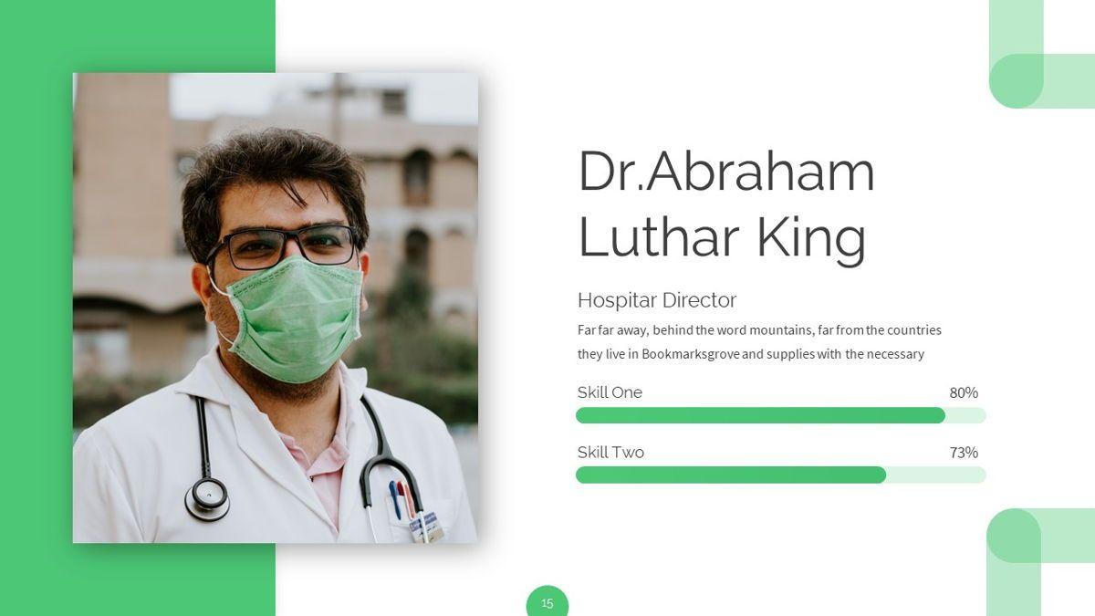 Ursla - Medical Powerpoint Template, Slide 16, 06245, Data Driven Diagrams and Charts — PoweredTemplate.com