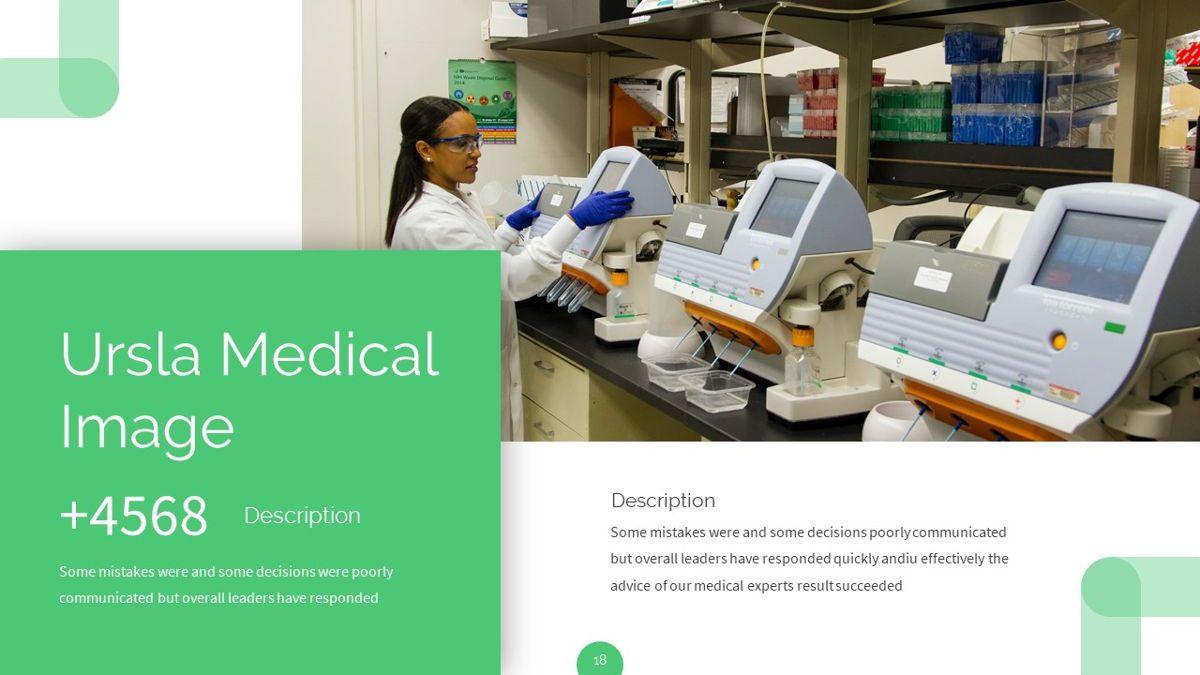 Ursla - Medical Powerpoint Template, Slide 19, 06245, Data Driven Diagrams and Charts — PoweredTemplate.com