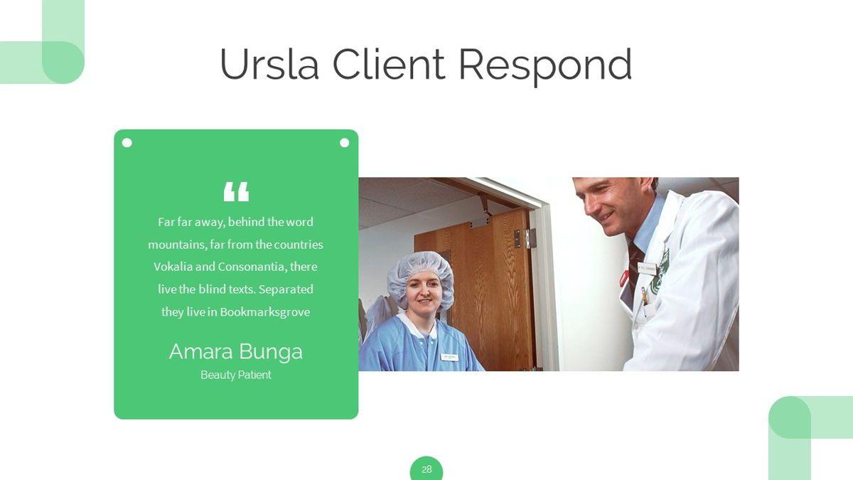 Ursla - Medical Powerpoint Template, Slide 29, 06245, Data Driven Diagrams and Charts — PoweredTemplate.com